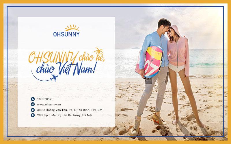 Thương hiệu OHSUNNY lần đầu xuất hiện tại Việt Nam